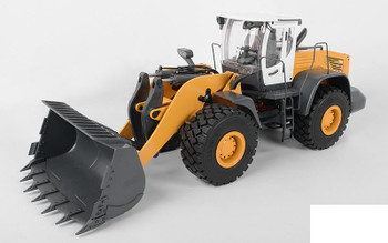 1/14 Scale Earth Mover 870K Hydraulic Wheel Loader White Cab VV-JD00031 RC4WD