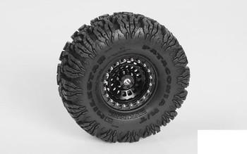 "RC4WD Milestar Patagonia M/T 1.9"" 4.7"" Tires Z-T0184  1.9 scale tyre WIDE TRX-4"