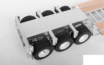 RC4WD 1/14 Lowboy Trailer Z-H0005 CNC Aluminium & Wood Semi Gooseneck