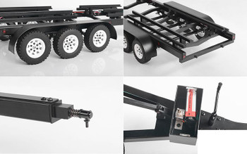 BigDog 1/10 Tri Axle Widebody Scale Boat Trailer Z-H0016 RC4WD Traxxas METAL