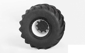 """Ignitor 2.6"""" Monster Truck Racing Beadlock Tires w/ Rings Z-W0282 RC4WD"""