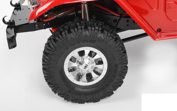 "RC4WD Cali Off-Road Distorted 1.9"" Beadlock Wheels Z-W0295 8 spoke TRX-4"