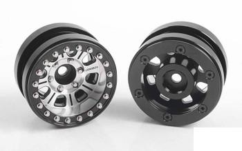 """RC4WD Raceline Monster Deep Dish 1.7"""" Beadlock Wheels Z-W0304"""