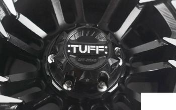 "RC4WD TUFF T21 1.9"" Internal Beadlock Wheels Z-W0307 inc centre Hubs & tool"