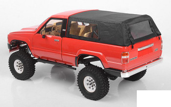 Tough Armor Cloth Top w/ Metal Cage for Toyota 4Runner Z-X0057 RC4WD 4 Runner