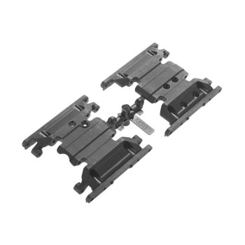 Skid Plates SCX10 II AX31379 Axial & SCX10 transmission mount base two options