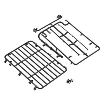 JCROffroad Roof Rack AX31395 Axial SCX10 II Cherokee XJ 132mm light bar mount