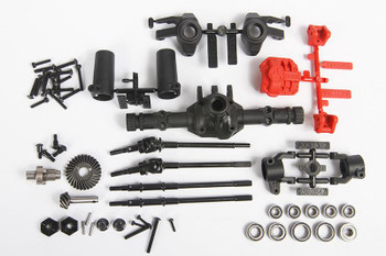 AR44 Locked Axle Set Front or Rear Complete AX31438 Axial SCX10 II 3.75 gear
