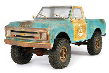 "67 Chevy C/10 Body .040 Uncut Clear SCX10 AX31498 Axial II 12.3"" wheelbase 313mm"