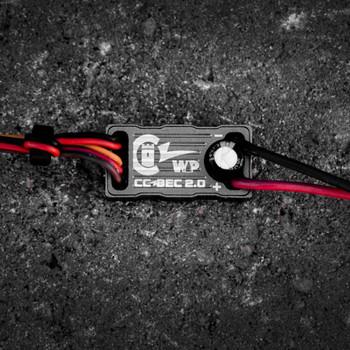 CC BEC 2.0 Waterproof 15A Voltage Regulator 50V Max CC010-0153-00 Castle