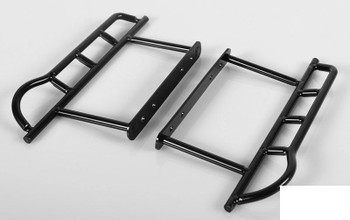 Tough Armor Side Steel Rode Sliders Bars for Axial SCX10 Uses Stock fixing point