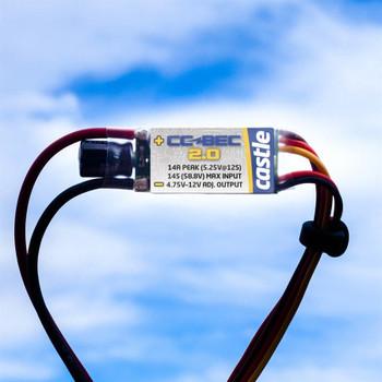 CC BEC 2.0 - 14A Voltage Regulator, 50V Max CC010-0154-00 Castle Creations 14amp