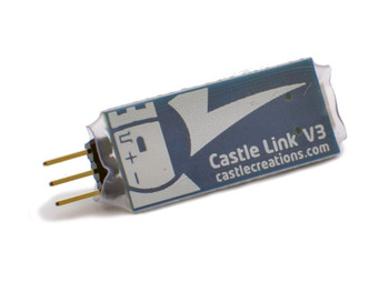 Castle Link V3 USB Adaptor CC011-0119-00 Castle Creations Programming to setup
