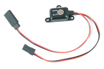Etronix Power Switch ET0775 tiny MCU controlled on off LiPo cut & Battery Level