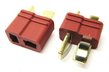 Etronix Deans Plug With Grips 1x MALE 1x FEMALE ET0789 Connector RC Pair Plugs