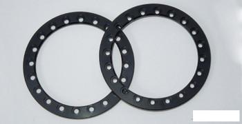 "SSD 1.9"" Black Aluminum Beadlock Rings (2) SSD00362 for SSD-RC wheels ring"