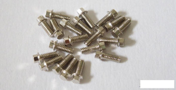SSD Silver M2 Scale Hex Bolts (20) SSD00369 M2 x 5mm miniature bolt SSD-RC