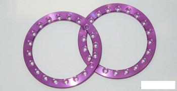 "SSD 1.9"" Purple Aluminum Beadlock Rings (2) SSD00374 for SSD-RC wheels ring"