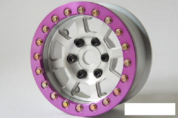 "SSD 1.9"" Purple Aluminum Beadlock Rings (2) SSD00374 for SSD-RC wheels ring"