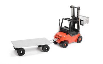 TOY 1/14 Norsu Hydraulic RC Forklift RTR RED VV-JD00036 RC4WD Truck 14th METAL