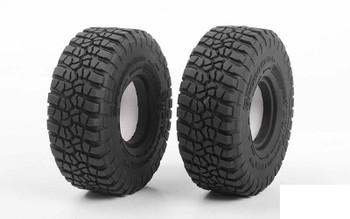 "RC4WD BFGoodrich Mud Terrain T/A KM2 1.55"" Tires Z-T0190 98 x 36mm Scale Tyre"