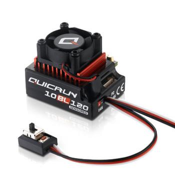 Hobbywing Quicrun 10Bl120 Sensored Brushless Esc (120A) HW30125000 120 amp