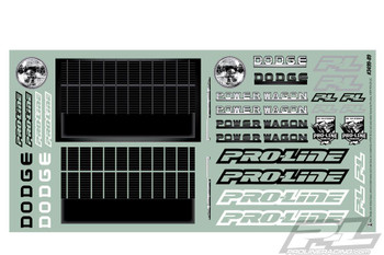Proline 1946 Dodge Power Wagon Clear Body Crawler 313mm WB PL3499-00