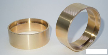 "SSD 1.9"" Brass Internal Rings 21.5mm SSD00393 NARROW wheel weight ring 93g each"
