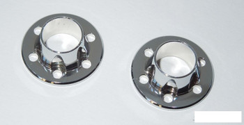SSD Chrome Wheel Center Caps SSD00397 for SSD-RC steel wheels & hubs