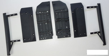 SSD Trail King Side Slider Set SSD00404 Smooth Sliders Skid SCX10 II 2