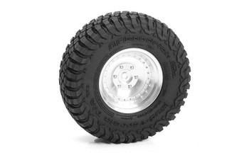 "RC4WD BF Goodrich Mud Terrain T/A KM3 1.7"" Tires Z-T0191 94mm OD tyre"