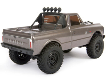 SCX24 1967 Chevrolet C10 1/24 4WD-RTR SILEVR AXI00001T2 Axial 24th micro scaler