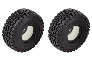 """Element RC General Grabber A/T X Tyres 1.55"""" 3.85in Dia Tire EL42107 Trailwalker"""