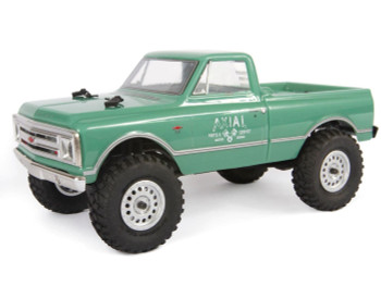 SCX24 1967 Chevrolet C10 1/24 4WD-RTR GREEN AXI00001T1 Axial 24th micro scaler