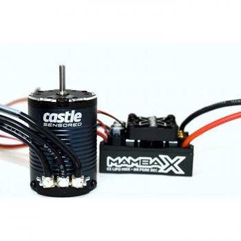 Mamba X Sensored 25.2V WP ESC & 1406 2280kv Combo CC010-0155-09 Castle Creations (CC010-0155-09)