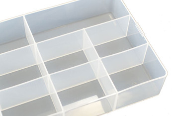Fastrax Parts Box 180 x 140mm 8 Sections FAST676-D Screw Hardware Parts Storage