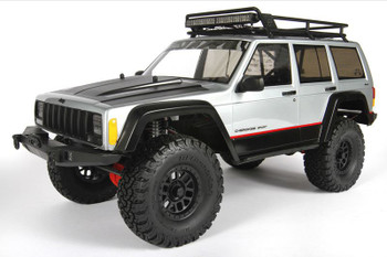 2000 Jeep Cherokee Body .040 Clear Body Set AX31337 Axial inc detail & hardware