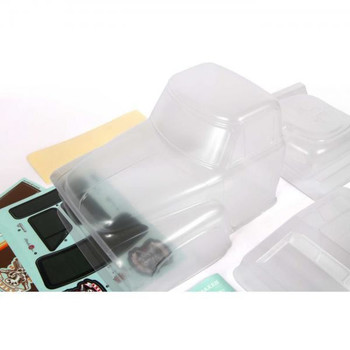 1955 Ford Body Outer Panel Set CLEAR AXI230006 Axial F-100 SCX10 II inc mask