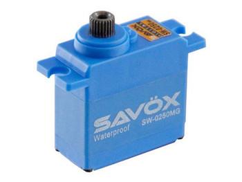 Savox Waterproof Digital Micro Servo 5Kg 0.11s@6V SAV-SW0250MG METAL gears 25t