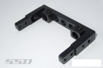 SSD Aluminum REAR Bumper Mount for SCX10 II SSD00287 Axial Trail King Bumpers