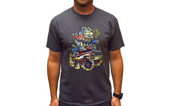 RC4WD DogFunk Shirt (S) Z-L0335 GREY cotton T-Shirt SMALL K5 Blazer Short Sleve
