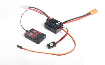 Outcry Extreme Speed Controller ESC w/ Program Card Z-E0118 RC4WD 2-3S 80A XT60