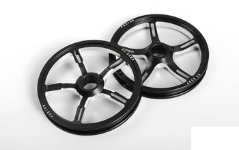 RC4WD RC Components Fusion Drag Race Front Wheels Z-W0326 CNC Billet