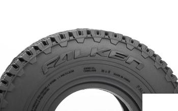 """RC4WD Falken Wildpeak A/T Trail 1.9"""" Scale Tires Z-T0195 108 x 35mm Soft Road"""