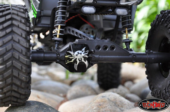 Poison Spyder Bombshell Diff Cover Axial Wraith Ridgecrest AX10 RC4WD EASY Fit