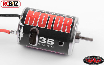540 Crawler Brushed Motor by RC4WD 35T Z-E0005 Bullet Connectors TF2 G2 SCX10 RC
