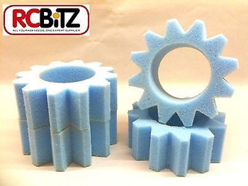 STAR CUT Foams Tyre Inserts 4 for 1.9 RC Wheels eg CC01 CC-01 Tamiya