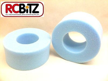 Rock Crawler FOAMS (2) for RC 2.2 Wheels Tyres eg CR-01 Replace worn or wet Foam