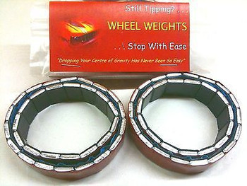 "RC 2.2"" Wheel Weights eg Tamiya CR-01 Losi alternative"