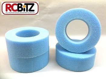 FOAM TYRE INSERTS (4) for RC 1.9 Wheels Tyres eg Tamiya Lunchbox
